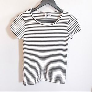 H&M Striped Fit Tee